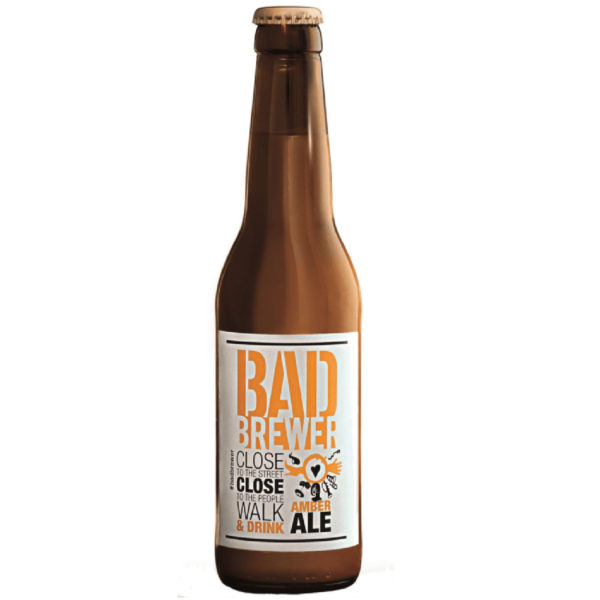 Bad brewer amber ale 33cl