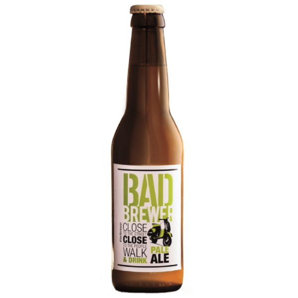 Bad brewer pale ale 33 cl