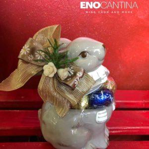 Coniglio in ceramica