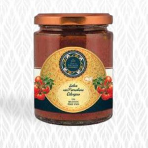 Salsa di Pomodorini Ciliegino, Melanzane e Pesce Spada