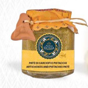 Paté carciofi e pistacchio