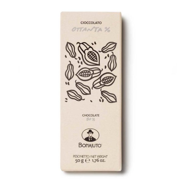 Cioccolato 80% 50g