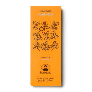 Cioccolato all'arancia 50g