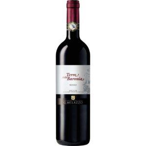 Terre della Baronia Rosso 75cl - Vino biologico