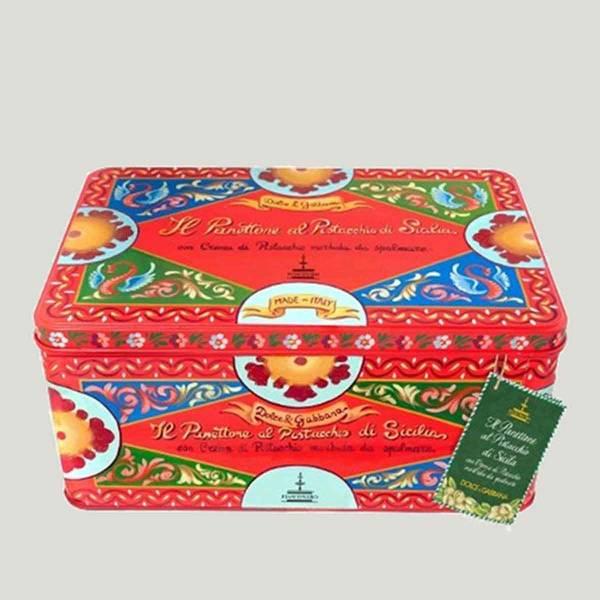 Panettone al pistacchio Dolce & Gabbana