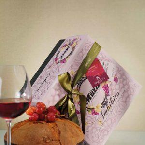 """Panettone imbevuto nel Vino """"Amarone della Valpolicella"""", 1Kg"""