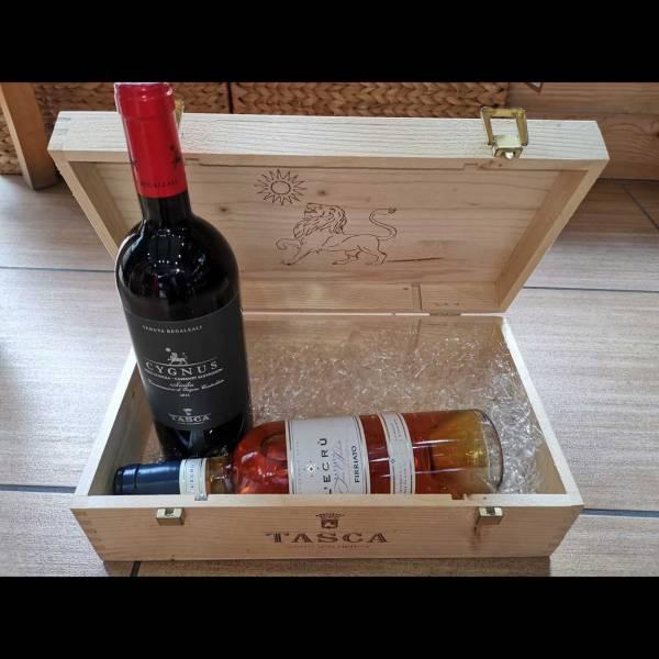 Cassetta in legno Tasca d'Almerita - ANT02d