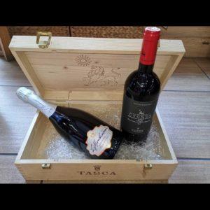 Cassetta in legno Tasca d'Almerita - ANT02e