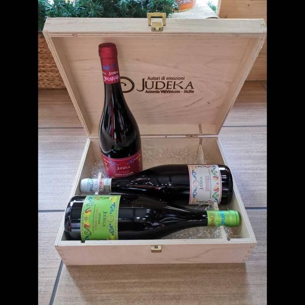 Cassetta di vini Judeka