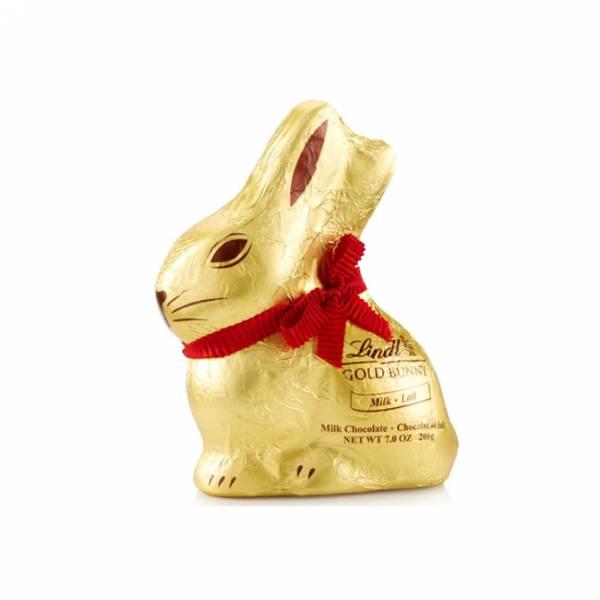 Gold Bunny coniglietto pasquale Lindt