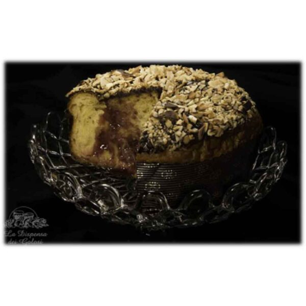 Panettone artigianale con crema di Nero d'Avola 1Kg