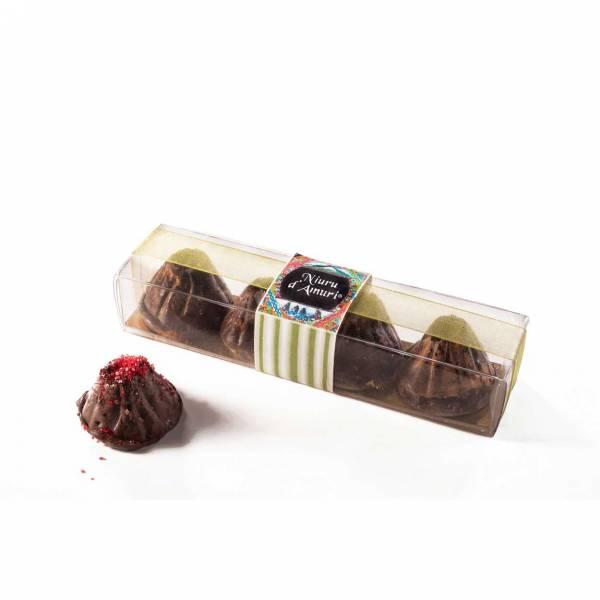 Cioccolatini Etna con cristalli di zucchero