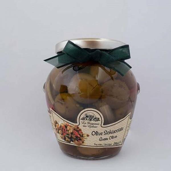 Olive Schiacciate sott'olio